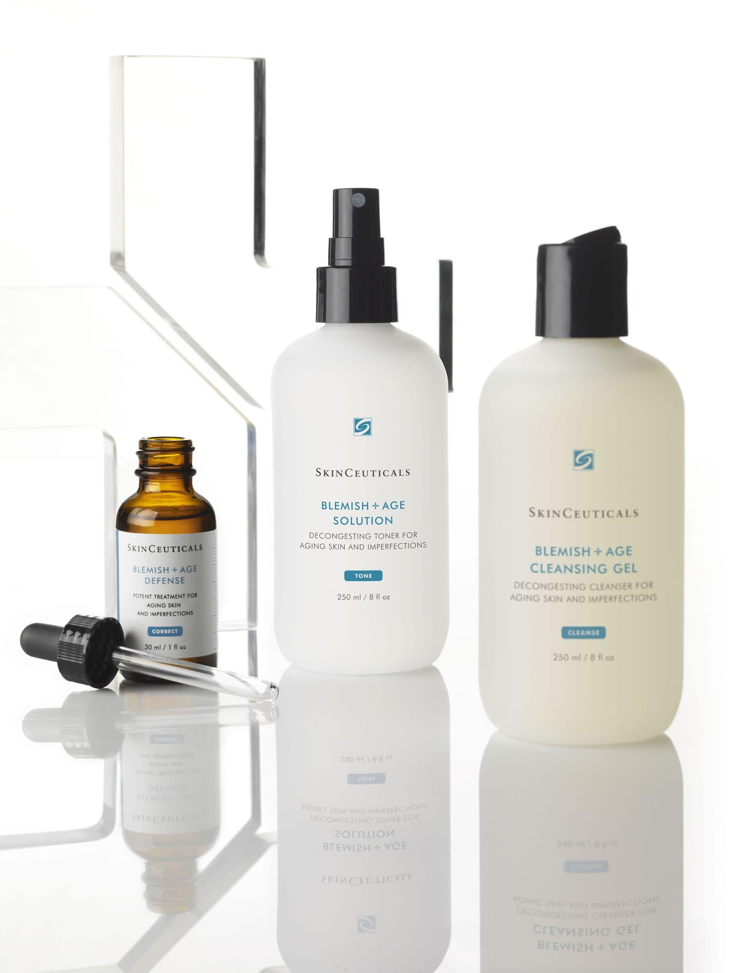Skinceuticals, blemish, l'âge, rides, réduisant, actifs