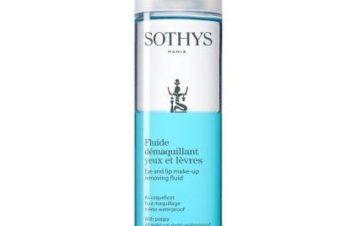 Fluide démaquillant yeux et lèvres de Sothys