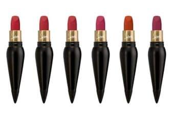 La gamme Velours Mat de Louboutin s'étoffe de cinq nouveaux rouges.