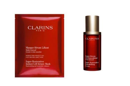 Les soins anti-âge densité de Clarins
