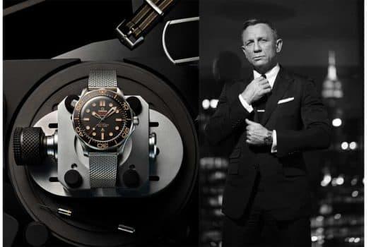 Une nouvelle montre pour OO7